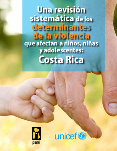 National Study on the Drivers of Violence Affecting Children in Costa Rica